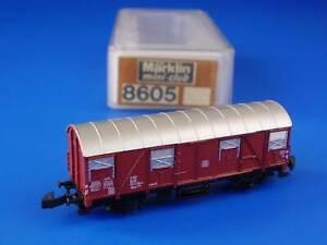 MARKLIN Z - 8605 - Box Car / LN