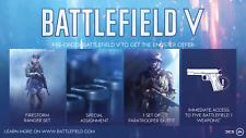 BATTLEFIELD V 5  Enlister Offer (NO GAME - DLC only) PS4 (Playstation 4) UK/EU
