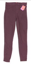 Spanx Jean-Ish Ankle Purple Leggings 10420 Size Small