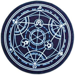 """Fullmetal Alchemist Transmutation Circle Doormat Indoor 24"""" Loot Crate Mat New"""