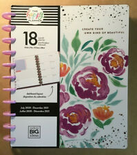 "NEW! 2020-2021 me & my BIG Ideas The Happy Planner ""DETAILED FLORALS"" BIG Dashbd"