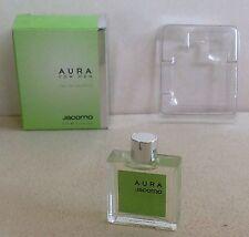 Miniature de parfum Aura for men de Jacomo (EDT) 5ml plein avec boite