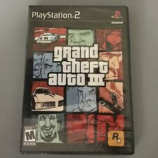 GRAND THEFT AUTO III *PART OF A SET*  PS2 FACTORY SEALED!!! **FAST SHIP**