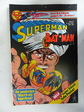 1 x Comic  Superman Batman  Nr.14  mit Sammel Ecke  (Jul 1981)    Z. 2