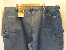 Carhartt Work Dungaree Denim Jeans Pants 50 x 32 New Loose Original Fit
