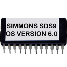 Simmons SDS-9 Latest Os V. 6.0 Firmware Update Upgrade eprom