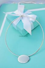 "AUTHENTIC Tiffany & Co. Oval Choker Necklace 15"" RARE!!! (#361)"