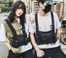 Chest Rig Bag Black Vest Hip Hop Streetwear Functional Tactical Harness Pack