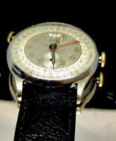 Vintage Swiss Watch Triple Calender Liban