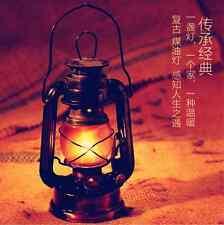 2018 Family Light Vintage Bronze Copper Barn Railroad Kerosene Oil Lamp Lantern