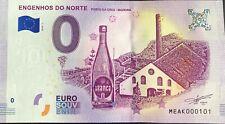 BILLET 0 EURO  ENGENHOS DO NORTE PORTUGAL 2018-1 NUMERO 101