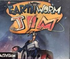 Earthworm Jim Pc New Cd Only Sealed In Paper Sleeve Classic Gaming At Its Best