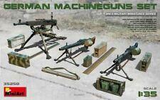 WW II GERMAN MACHINEGUNS /MG 34, MG 42, ZB-53 (VZ.37)/ # 35250 1/35 MINIART