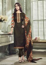 PREMIUM QUALITY PURE COTTON EMBROIDERY LADIES SALWAR SUIT WITH CHIFFON DUPPATA