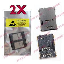 2 X New SIM Card Reader Slot Socket Samsung Galaxy Tab P1000 P3000 P6200 S5628
