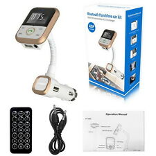 Wireless Bluetooth LCD FM Transmitter Modulator Car Kit MP3 Player SD USB Remote