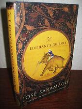 1st/2nd Printing ELEPHANT'S JOURNEY Jose Saramago NOBEL PRIZE Classic