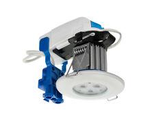 Scolmore Inceptor LED Downlight White Bezel Warm White LED4400WH7W