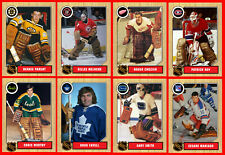 RETRO 1960s 1970s 1980s 1990s NHL Custom Made Hockey Cards U-Pick THICK (Set 1)