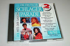 DIE DEUTSCHE SCHLAGER PARADE 4/92 /2 CD'S MIT NADINE NORELL MARIANNE ROSENBERG
