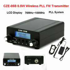 CZE-05B 0.5W Wireless PLL FM Transmitter 76MHz~108MHz Antenna Home Broadcast  YU