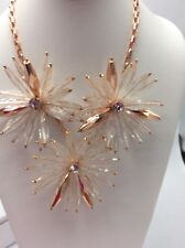 $165 Ted Baker White Starburst Flower Necklace TB45