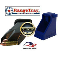 RangeTray Magazine Speed Loader w UNLOADER TAB for SCCY CPX1 CPX2 9mm BLUE