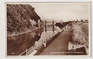 Devon Postkarte - Alma Brücke Und Fluss Lampe, Sidmouth - (A3521)