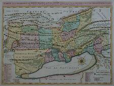 Carte de la Souveraineté de Neufchatel et Valangin - Homann - 1778 - Neuchatel