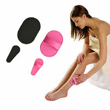 Smooth Legs Pads Painless Face Arms Sheer Skin Upper Lip Hair Removal Set New