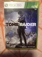 Tomb Raider Microsoft Xbox 360 Game Square Enix Brand New Sealed