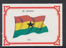 Monty Gum 1980 Flags Cards - Card No 46 - Ghana   (T665)