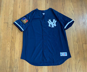 New York Yankees Vintage Stitched Majestic 125th Anniversary Jersey Mens XL