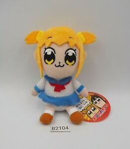 "Pop Team Epic B2104 Takeshobo Popuko Keychain Mascot 4.5"" Plush Toy Doll Japan"