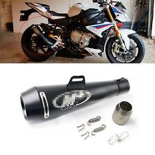 51mm Slip On Motorcycle Exhaust Muffler Pipe Black with DB Killer Universal