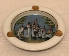 Disneyland Sleeping Beauty Castle Ashtray Vintage Walt Disney Productions Japan