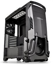Thermaltake Versa N24 Black ATX Mid Tower Gaming Computer Case with Power Supply