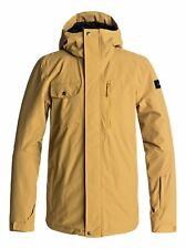 QUIKSILVER Men's MISSION SOLID Snow Jacket - YLM0 - Small - NWT