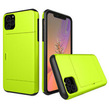 iPhone 11 Pro Max XR/XS/8/7/6 Tpu+Pc Shockproof Wallet Card Case Cover Apple