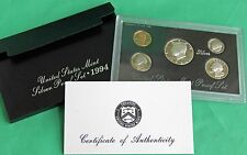 1994 United States Mint ANNUAL 5 Coin SILVER Proof Set Free Shipping in the USA
