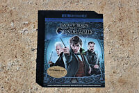 Fantastic Beasts the Crimes of Grindelwald 4K ULTRA HD + BLU-RAY LIKE NEW