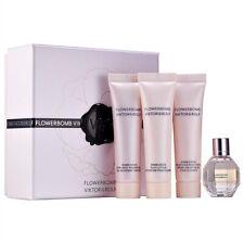 Mini Set Flowerbomb Viktor Rolf Mini, Shower Gel, Body Lotion & Body Cream, 4 pc