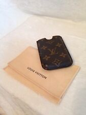 e06e1e4406e5 LOUIS VUITTON Monogram Cell Mobile Holder
