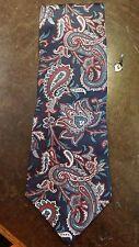 Morgan Hart Blue Red Executive Designer Mens Suit Necktie Free Shipping