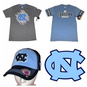 UNC North Carolina Tar Heels Colosseum Youth Shirt & Hat Combo NEW!!