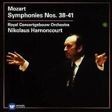 Nikolaus Harnoncourt - Mozart: Symphonies 38-41 (NEW 2CD)