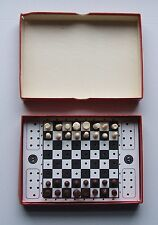 Vintage Pocket Chess by K &C Ltd. London