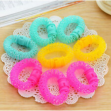 8 Pcs Hairdress Magic Bendy Hair Styling Roller Curler Spiral Curls DIY ToolsLF