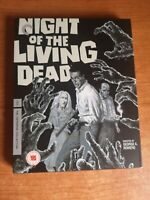 Night Of The Living Dead - Criterion Collection BluRay Romero con poster