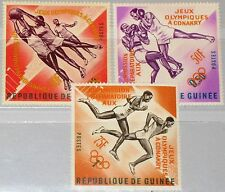 GUINEA 1963 211-13 b 312-14 Olympics 1964 Tokyo Olympia Tokio Sports Basketball
